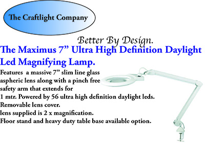 Low Vision Daylight Magnifying Lamps