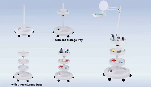 ROUND HEAVY DUTY STAND ON CASTERS