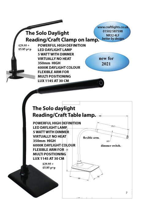 ULTRA HIGH DEFINITION SOLO DAYLIGHT CLAMP ON LAMP